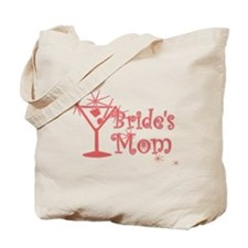 Red C Martini Bride's Mom Tote Bag