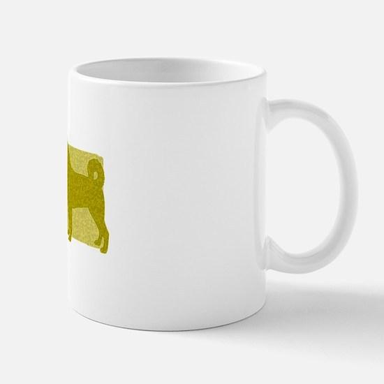 Color Row Canaan Dog Mug