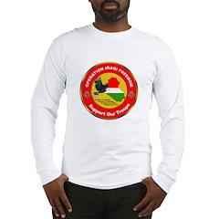 Masonic Operation Iraqi Freedom Long Slv. T-Shirt