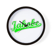 Retro Jakobe (Green) Wall Clock
