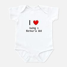 Barber Infant Bodysuit