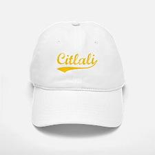 Vintage Citlali (Orange) Baseball Baseball Cap