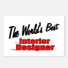 """The World's Best Interior Designer"" Postcards (Pa"