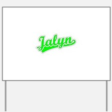 Retro Jalyn (Green) Yard Sign