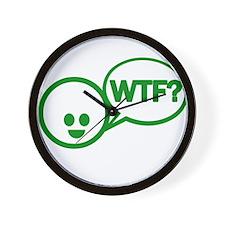 Cool Wtf Wall Clock