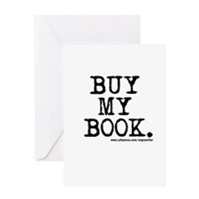Buy My Book Greeting Card