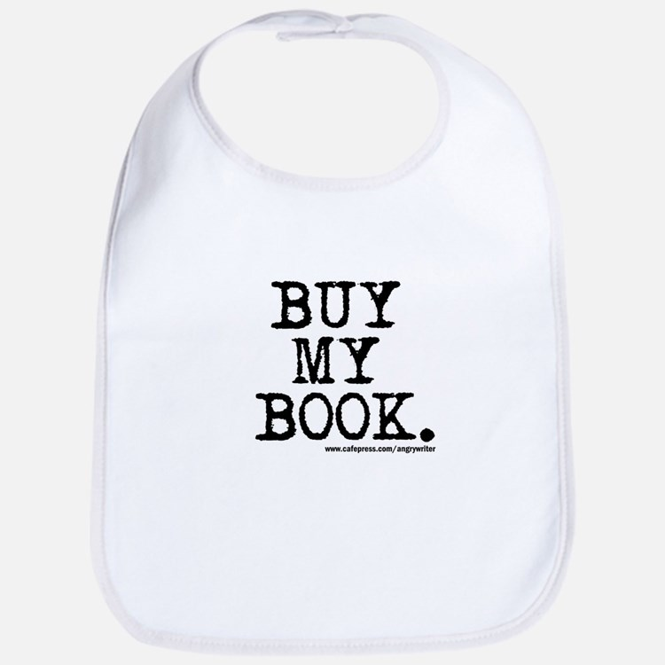 Buy My Book Bib