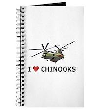 I Love Chinooks Journal