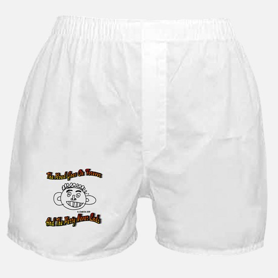 The Road Goes On Forever Boxer Shorts