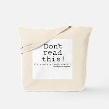 Rough Draft Tote Bag