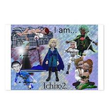 Ichiro 2 Postcards (Package of 8)