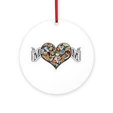 Mom Rocks Ornament (Round)