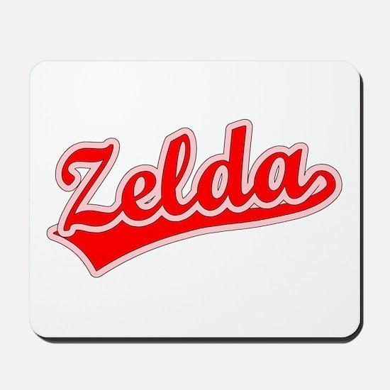 Retro Zelda (Red) Mousepad