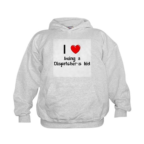 Fire Dispatcher Kids Hoodie