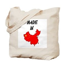 Made In China Map Tote Bag