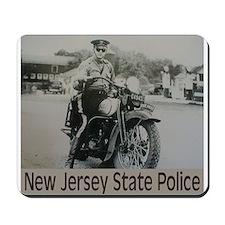NJSP Motor Cop Mousepad
