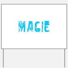Macie Faded (Blue) Yard Sign