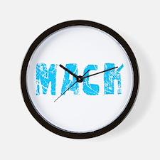 Mack Faded (Blue) Wall Clock