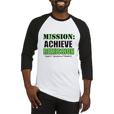 Mission Remission Lymphoma Baseball Jersey