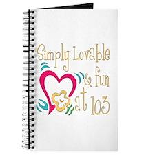 Lovable 103rd Journal
