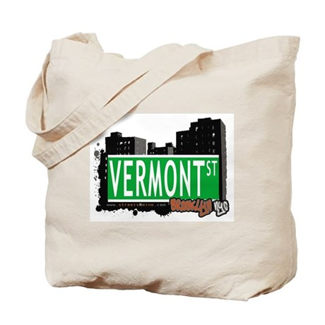 VERMONT ST, BROOKLYN, NYC Tote Bag