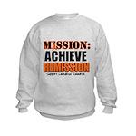 Mission Remission Leukemia Kids Sweatshirt