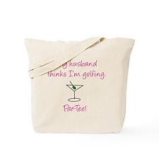 Par-Tee! (Pink) Tote Bag