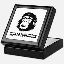 Viva La Evolucion Darwin Keepsake Box