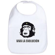 Viva La Evolucion Darwin Bib