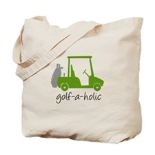 Golf-A-Holic - Golf Tote Bag