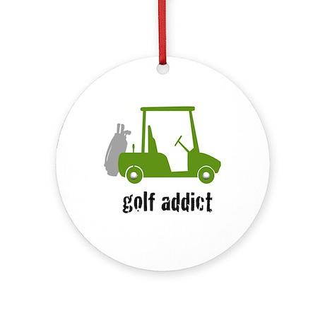 Golf Addict - Ornament (Round)