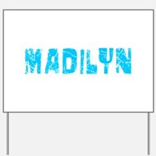 Madilyn Faded (Blue) Yard Sign