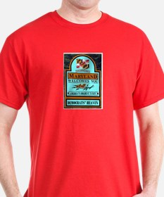 MARYLAND WELCOME T-Shirt
