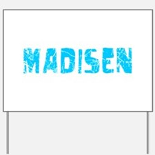 Madisen Faded (Blue) Yard Sign