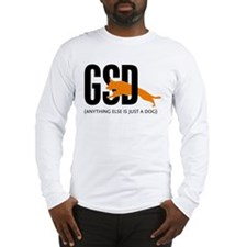Men's German Shepherd Long Sleeve T-Shirt