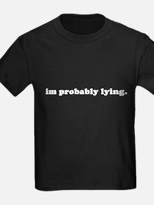 I'M PROBABLY LYING T
