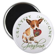 Chihuahua Grandma Magnet