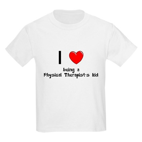Physical Therapist Kids Light T-Shirt