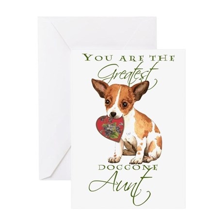 Chihuahua I Love Aunt Greeting Card