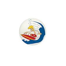 Surfer Dude Mini Button