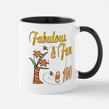 Floral 100th Mug