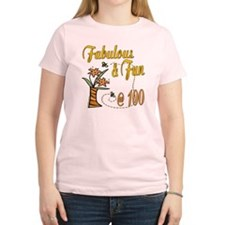 Floral 100th T-Shirt