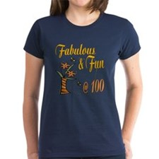 Floral 100th Tee