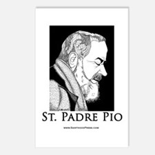 St. Padre Pio Postcards (8)