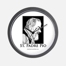 St. Padre Pio Wall Clock
