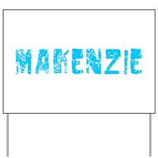 Makenzie Faded (Blue) Yard Sign
