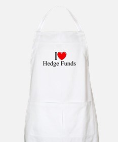 """I Love (Heart) Hedge Funds"" BBQ Apron"
