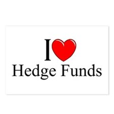 """""""I Love (Heart) Hedge Funds"""" Postcards (Package of"""