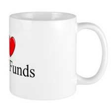 """I Love (Heart) Hedge Funds"" Mug"