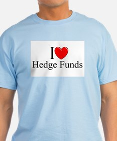 """I Love (Heart) Hedge Funds"" T-Shirt"